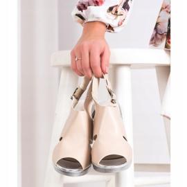 SHELOVET Sandals at Koturna beige 1