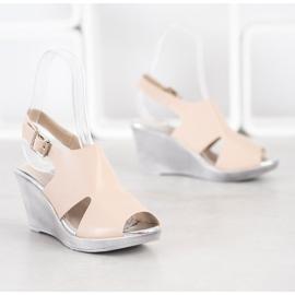 SHELOVET Sandals at Koturna beige 3
