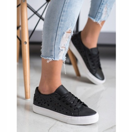 J. Star Low Sneakers With Stars black 2