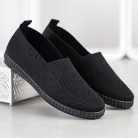 Via Giulia  Openwork Slip On Sneakers black 1