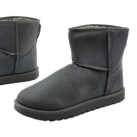 Gray insulated boots, emu Loraven type grey 1
