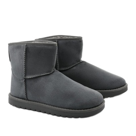 Gray insulated boots, emu Loraven type grey 3