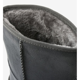 Gray insulated boots, emu Loraven type grey 4
