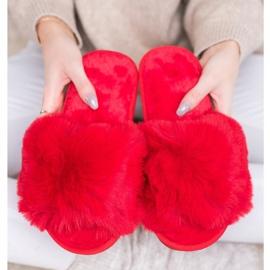 Bona Stylish Red Slippers 3