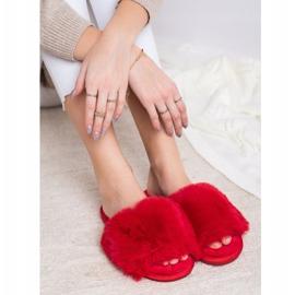 Bona Stylish Red Slippers 4