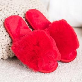 Bona Stylish Red Slippers 1