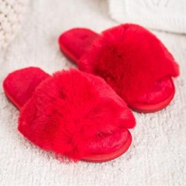 Bona Stylish Red Slippers 2