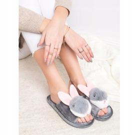 Bona Bunny slippers grey 2