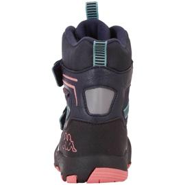 Kappa Blackpool Tex Jr 260805K 6722 shoes navy blue 3