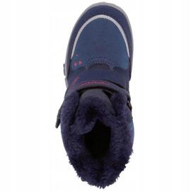 Kappa Cui Tex Jr 260823K 6722 boots navy blue 1