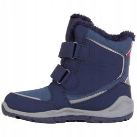 Kappa Cui Tex Jr 260823K 6722 boots navy blue 2