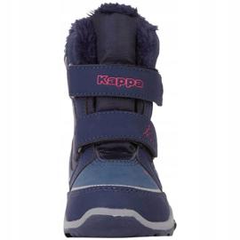 Kappa Cui Tex Jr 260823K 6722 boots navy blue 3