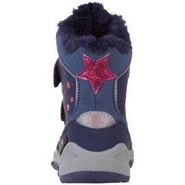 Kappa Cui Tex Jr 260823K 6722 boots navy blue 4