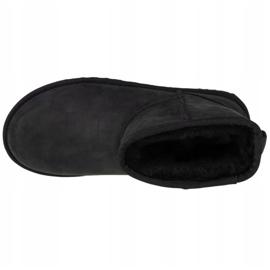 Boots Ugg W Classic Mini Leather W 1016558-BLK black 2