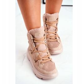 Kylie Crazy Women's Sneakers Beige Snow boots Missy 3
