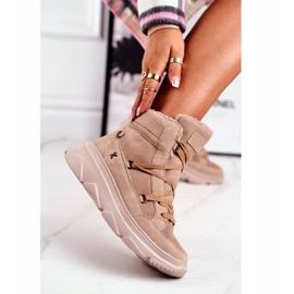 Kylie Crazy Women's Sneakers Beige Snow boots Missy 4