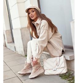 Kylie Crazy Women's Sneakers Beige Snow boots Missy 5