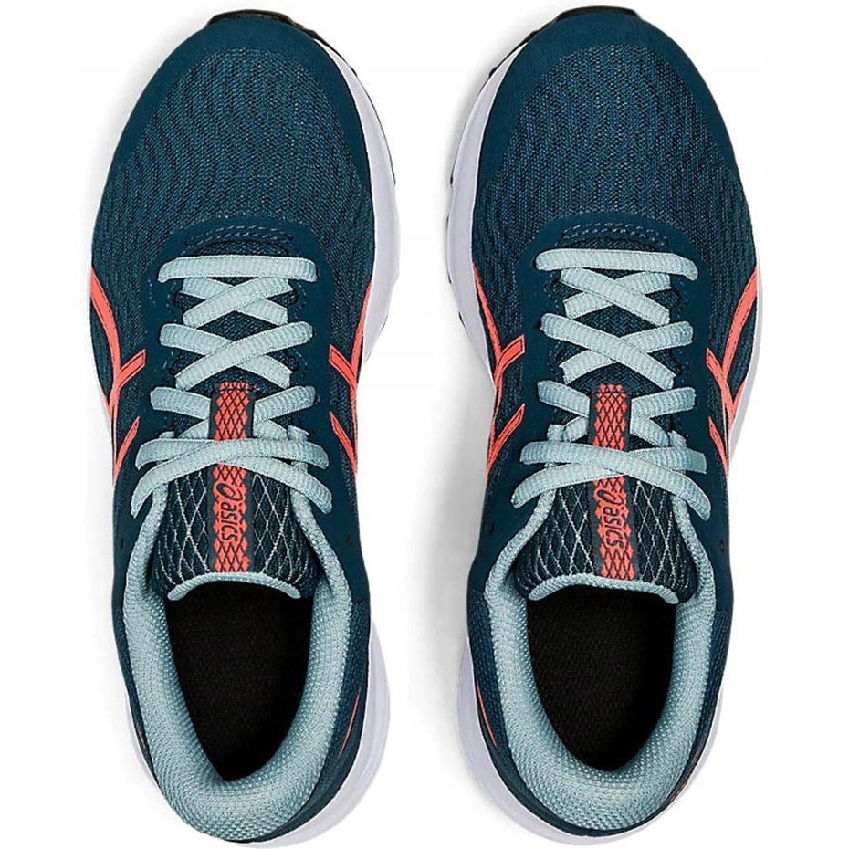 Asics Patriot 12 Gs green 1014A139 400 running shoes for kids