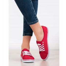 SHELOVET Red Sneakers 1