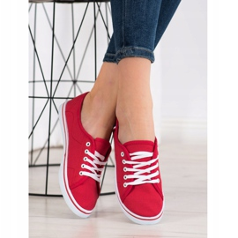 SHELOVET Red Sneakers 3