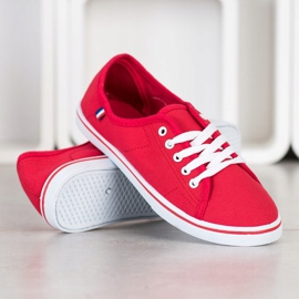 SHELOVET Red Sneakers 2