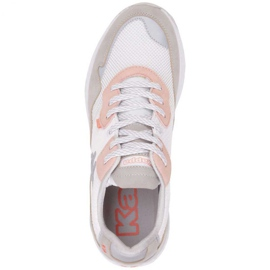 Kappa Laverton W 242930 1021 shoes white pink grey 1