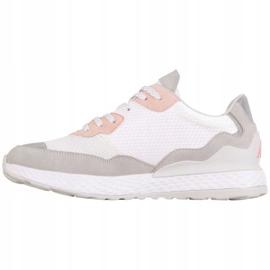 Kappa Laverton W 242930 1021 shoes white pink grey 2