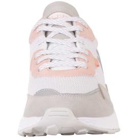Kappa Laverton W 242930 1021 shoes white pink grey 3