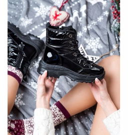 SHELOVET Comfortable Snow Boots black 3