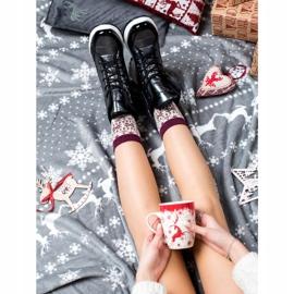 SHELOVET Comfortable Snow Boots black 1