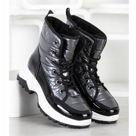 SHELOVET Comfortable Snow Boots black 2