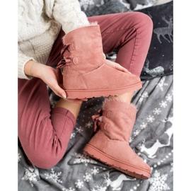 SHELOVET Fashionable Mukluki pink 3