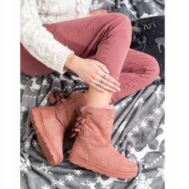 SHELOVET Fashionable Mukluki pink 1