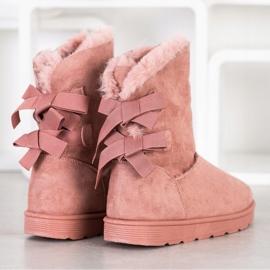 SHELOVET Fashionable Mukluki pink 2