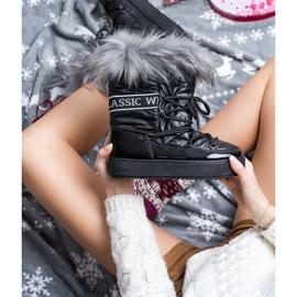 SHELOVET Snow Boots On The Platform black 2
