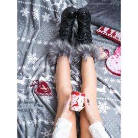 SHELOVET Snow Boots On The Platform black 3