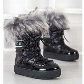 SHELOVET Snow Boots On The Platform black 1
