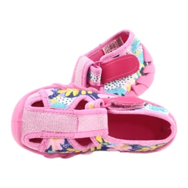 Befado children's shoes 190P097 blue pink silver yellow 5