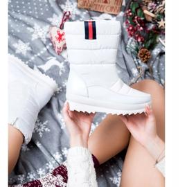 SHELOVET White Snow Boots 2