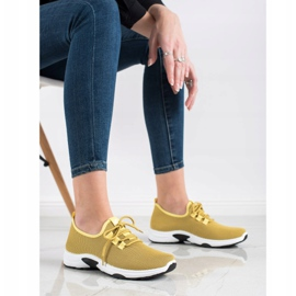 Kylie Classic Sport Shoes yellow 3