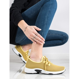 Kylie Classic Sport Shoes yellow 4