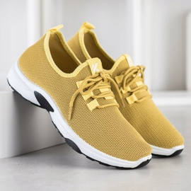 Kylie Classic Sport Shoes yellow 1