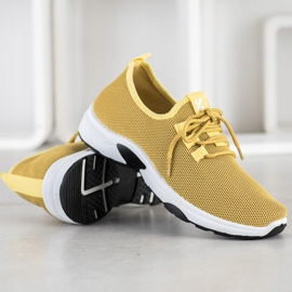 Kylie Classic Sport Shoes yellow 2