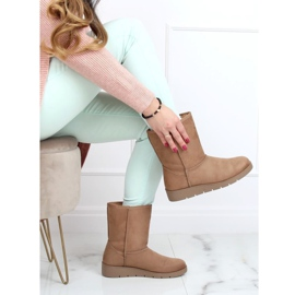 Beige emuses for women K1838403 Taupe 2
