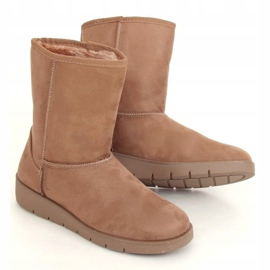 Beige emuses for women K1838403 Taupe 3