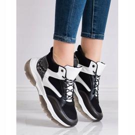 SHELOVET Casual Sneakers white black grey 1