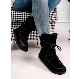 HAN Women's Ankle Boots Insulated Fur Black Ilana 2