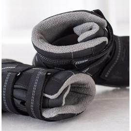 SHELOVET Snow boots. Velcro black 2