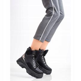 Seastar Fashion Lace-up Sport Booties black 2