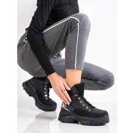 Seastar Fashion Lace-up Sport Booties black 1
